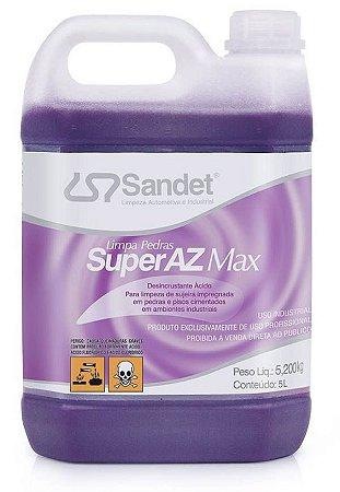Super AZ Max Limpa Pedras Sandet 5Lts