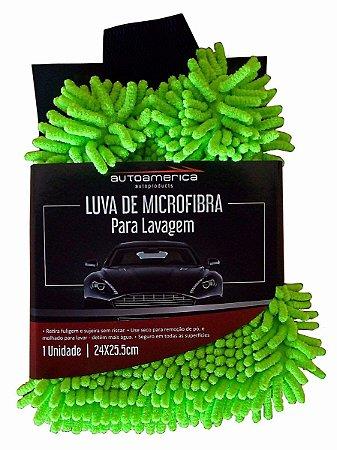 Luvas de Microfibra para Lavagem Automotiva Autoamerica