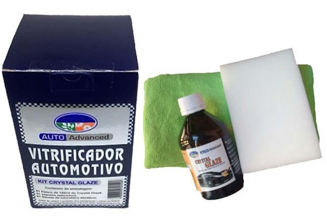 Vitrificador Crystal Glaze Ecoway Kit