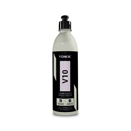 Composto Polidor de Corte V10 Vonixx Polidor de Corte Rápido 500ml