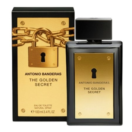 Antonio Banderas The Golden Secret Eau de Toilette - Perfume Masculino