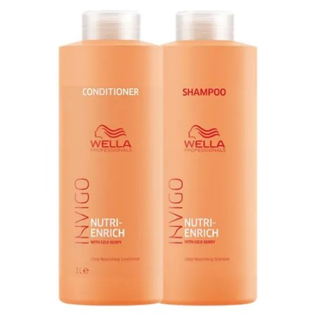 Kit Invigo Nutri-Enrich Wella Professionals Shampoo + Condicionador 1L