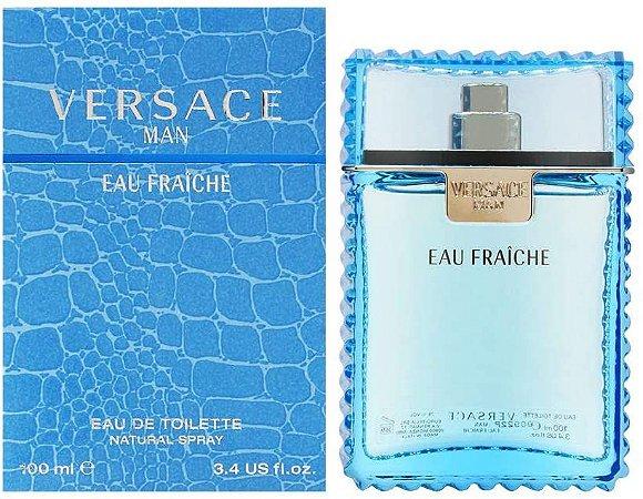 Versace Man Eau Fraîche Eau de Toilette 100ml - Perfume Masculino