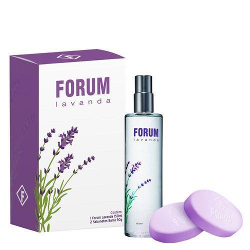 Kit Forum Lavanda Deo Colonia 150ml - Feminino