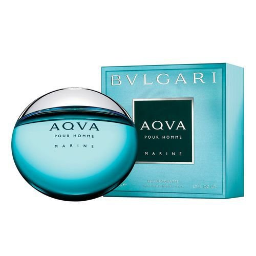 Aqva Marine Eau de Toilette Bvlgari 50ml - Perfume Masculino