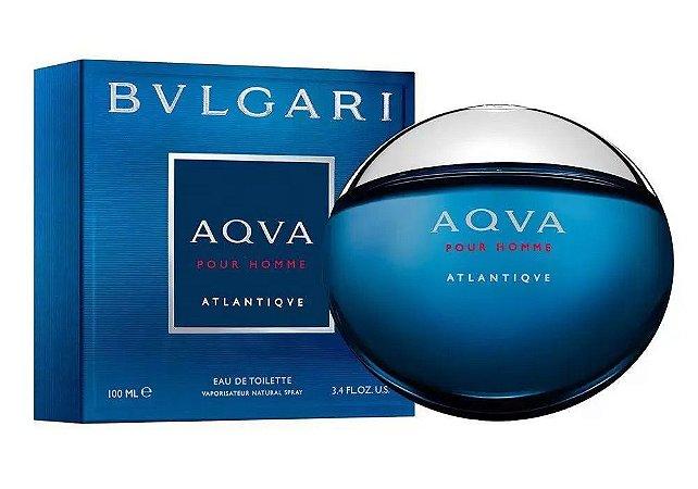 Bvlgari AQVA Pour Homme Atlantiqve Eau de Toilette 100ml - Perfume Masculino