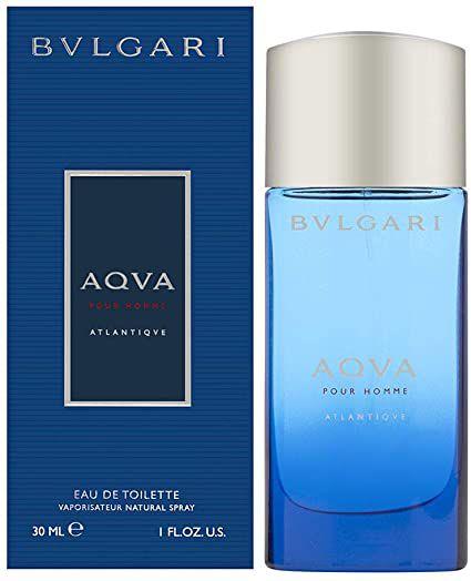 Bvlgari AQVA Pour Homme Atlantiqve Eau de Toilette 30ml - Perfume Masculino