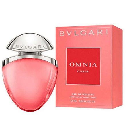 Omnia Coral Eau de Toilette Bvlgari 25ml - Perfume Feminino