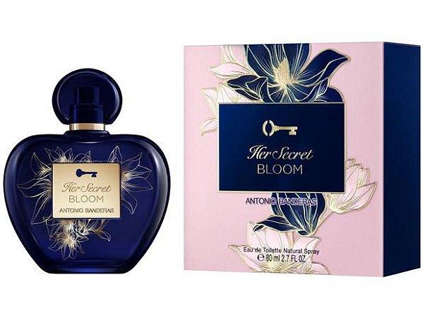 Her Secret Bloom Eau de Toilette 80ml - Antonio Banderas