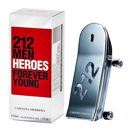 Carolina Herrera 212 Heroes Eau de Toilette 50ml - Masculino