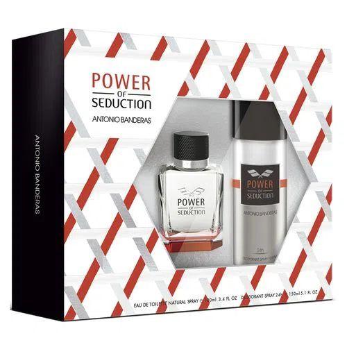 Kit Power of Seduction Antonio Banderas Eau de Toilette 100ml + Desodorante 150ml