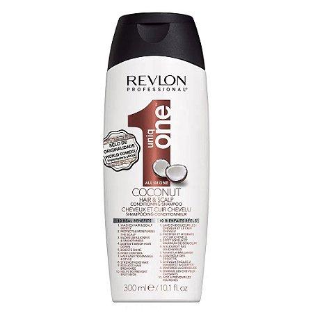 Revlon One Hair & Scalp All In Coconut – Shampoo e Condicionador 300ml