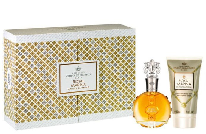 kit Royal Marina Diamond EDP Feminino Perfume 100ml + Loção Corporal 150ml