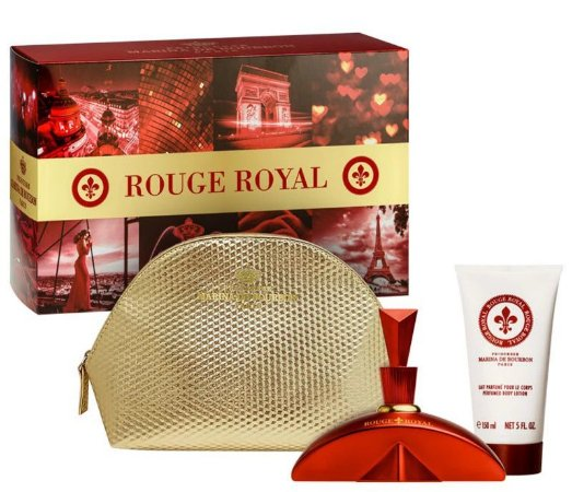 Kit Rouge Royal EDP 100ml + Loção Corporal 150ml + Necessaire - Marina de Bourbon