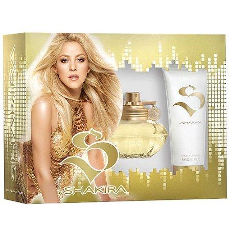 Kit Perfume S by Shakira Feminino Eau De Toilette 80ml + Body Lotion 100ml