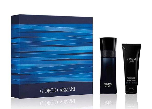 Kit Giorgio Armani Code Eau de Toilette 75ml + Pós Barba 75ml