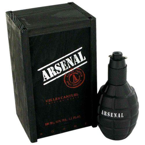 Arsenal Black Eau de Parfum Gilles Cantuel 100ml - Perfume Masculino