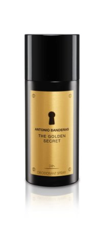 Desodorante The Golden Secret Antonio Banderas 150ml