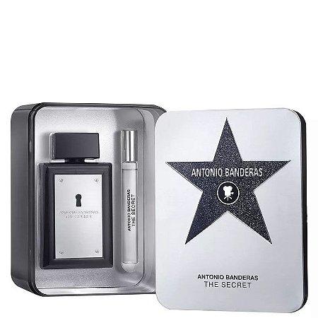 Kit The Secret Masculino Eau de Toilette Antonio Banderas- Perfume 100ML + Perfume 10ML