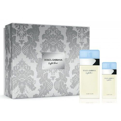 Kit Light Blue Dolce & Gabbana Eau de Toilette 100ml + Eau de Toilette 25ml -Feminino