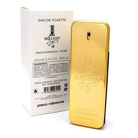 Tester 1 Million Eau de Toilette Paco Rabanne 100ml - Perfume Masculino