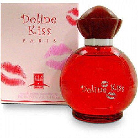 Doline Kiss EDT Via Paris 100ml - Perfume Feminino