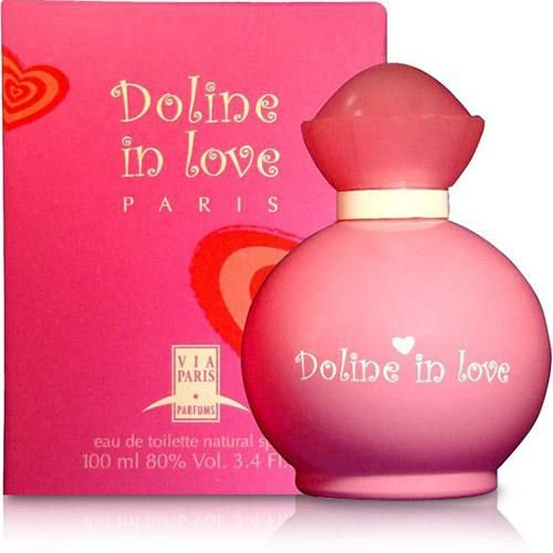 Doline In Love Via Paris Eau de Toilette 100ML - Perfume Feminino