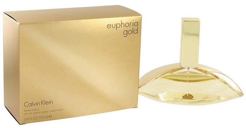 Euphoria Gold Limited Edition Eau De Parfum 100ml Calvin Klein