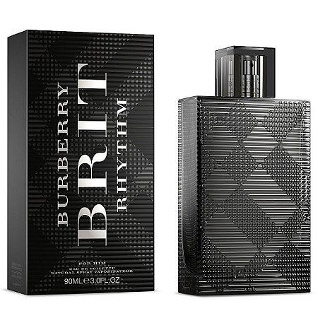 Brit Rhythm Eau de Toilette Burberry 90ml - Perfume Masculino