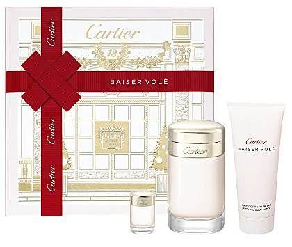 339c5ac654d Kit Cartier Baiser Volé Feminino Eau de Parfum 100ml + Miniatura Eau de  Parfum 6ml +