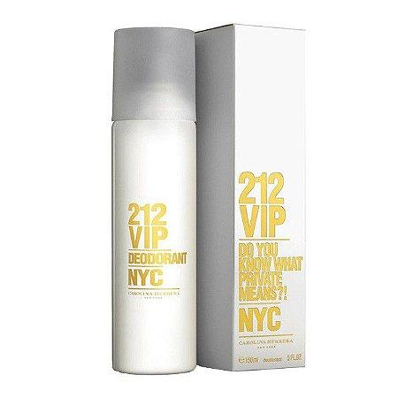 Desodorante 212 VIP Carolina Herrera 150ml - Feminino