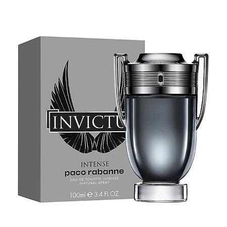 Invictus Intense Eau De Toilette Paco Rabanne 100ml - Perfume Masculino