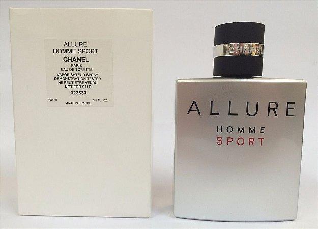 Tester Allure Homme Sport Eau de Toilette Chanel 100ml - Perfume Masculino