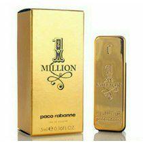 Miniatura 1 Million Eau de Toilette Paco Rabanne 5ml - Perfume Masculino
