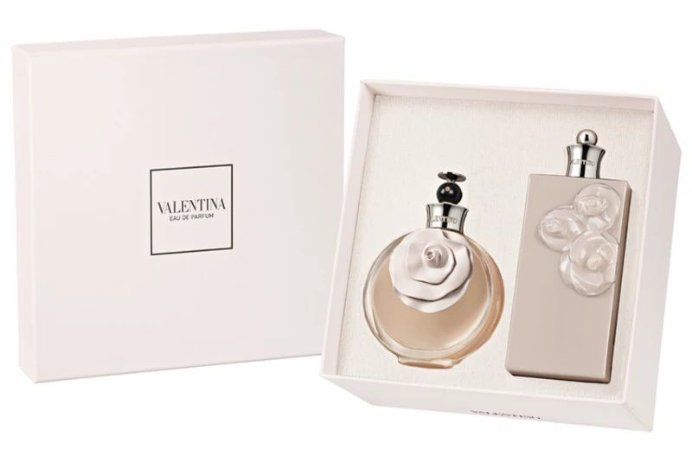 Kit Coffret Valentina Eau de Parfum 80ML + Body Lotion 200ML - Feminino