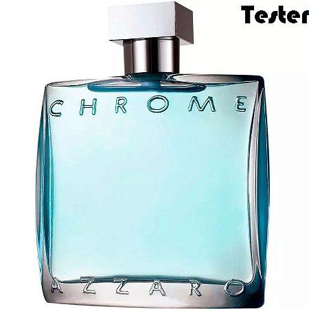 Tester Azzaro Chrome Eau de Toilette 100ml - Perfume Masculino