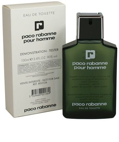 Tester Paco Rabanne Pour Homme EDT 100ml - Perfume Masculino