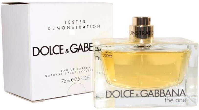 Tester The One EDP Dolce & Gabbana 75ml - Perfume Feminino
