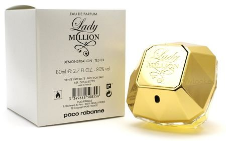 Tester Lady Million Eau De Parfum Paco Rabanne 80ml - Perfume Feminino