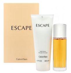 Kit Escape calvin Klein Eau de Parfum - 100ML + Body Lotion 200ML