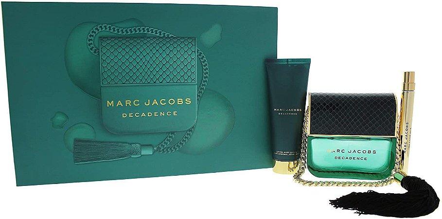 Kit Decadence Marc Jacobs Eau de Parfum 100ml + 10ml + Body Lotion 75ml