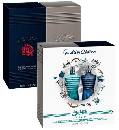 Kit Gaultier Airlines Jean Paul Gaultier 2 x 40ml - Perfume Masculino