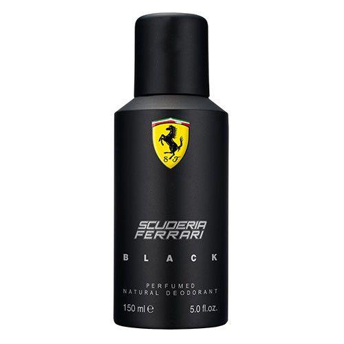 Desodorante Spray Ferrari Black 150ml - Masculino