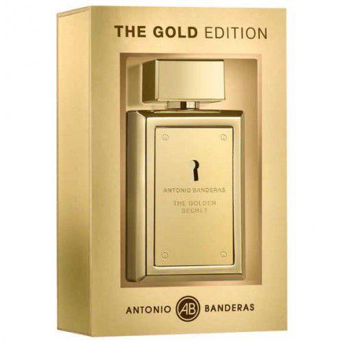 dc05dd1df7 The Gold Edition Eau de Toilette Antonio Banderas 100ML - Perfume Masculino
