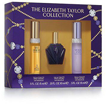 Kit The Elizabeth Taylor Collection - White Diamonds EDT 15ml + Passion EDT 15ml + Violet Eyes EDP 15ml