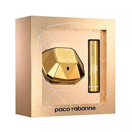 Kit Lady Million Paco Rabanne Eau de Parfum 50ML + Miniatura 10ML