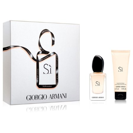 Kit Giorgio Armani Si Eau de Parfum 30ML + Body Lotion 75ML - Feminino