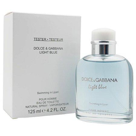 Tester Light Blue Pour Homme EDT Dolce   Gabbana 125ML - Perfume Masculino 97620667d7
