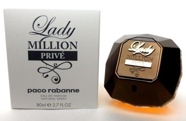 Tester Lady Million Prive Eau De Parfum Paco Rabanne 80ml  - Perfume Feminino