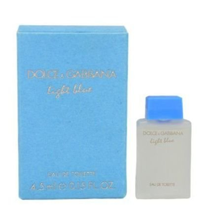 Miniatura Light Blue Eau de Toilette Dolce   Gabbana 4,5ML - Perfume  Feminino c8f191f9c2